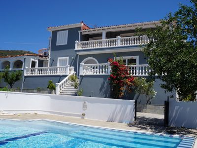 Photo for Private Villa with exclusive XLpool, 3Bedrooms, 3Baths, 6Adults, 1Baby, Beach.