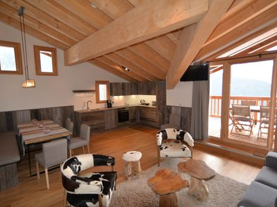 Photo for Residence Miravidi - Dahu - Apartments character at the top of the Alps