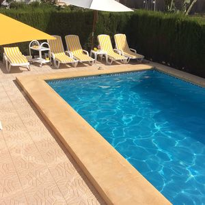 Photo for villa with private heated pool+jacuzzi in La Fustera/Calpe 800 metres from beach
