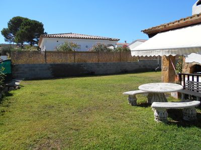 Photo for Nice villa on the ground floor between sea and forest with free WIFI