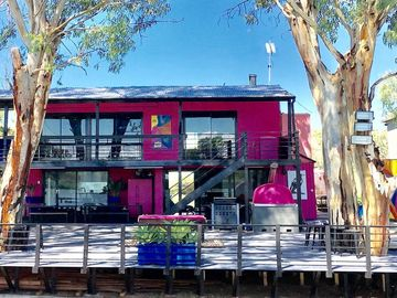Pink Shack River Murray