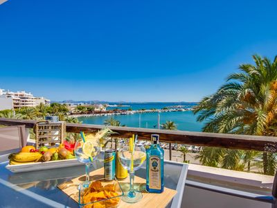 Photo for ☼ Top modern air-conditioned apartment in Alcudia Marina