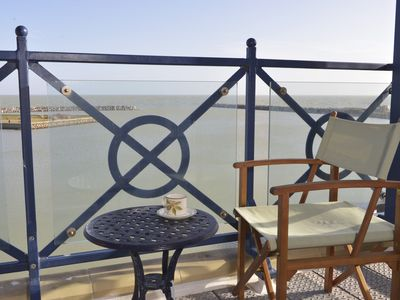 Photo for Stunning sea views from private balcony