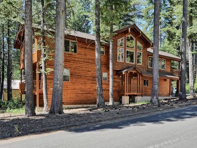 Photo for Gorgeous, Cabin-Style Home Nestled in the Pines-Short Walk to Lake Tahoe!
