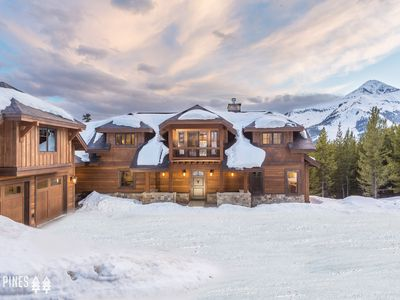 Photo for Brand New Beehive Basin Luxury Home with Ski-In/Ski-Out Access!!