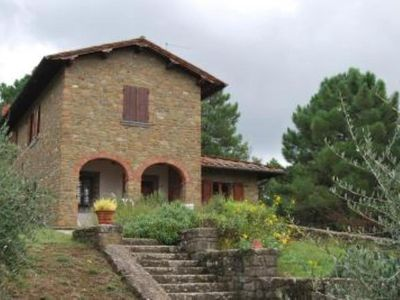 Photo for Charming hill villa with a wonderful view and park