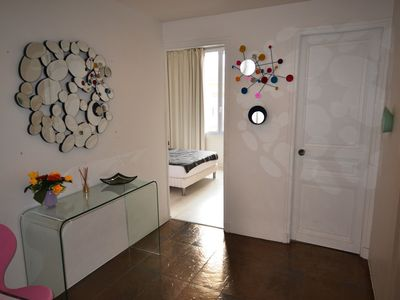 Photo for CANNES 3 bedroom duplex at 300 meters from the beach center