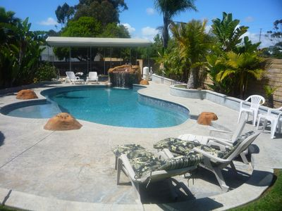 San diego dreamin 39 heated salt water pool vrbo - Clairemont swimming pool san diego ca ...