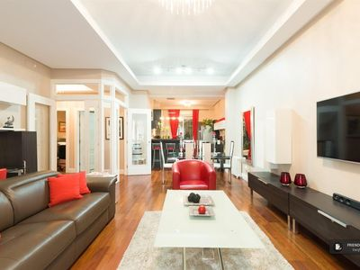 Photo for Friendly Rentals The Gran Via Exclusive III apartment in Madrid