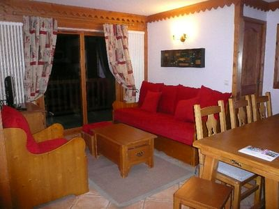 Photo for A very comfortable apartment facing Mont Blanc