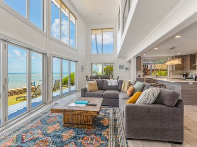 Newly Remodeled Beachfront Home