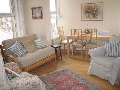 Photo for Spacious Apartment, Central Swanage close to town, sea and railway