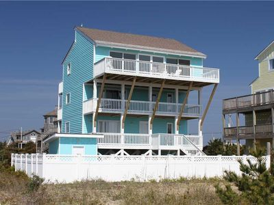 Photo for OCEANFRONT in Salvo w/Htd Pool&HotTub, RecRoom, Pets