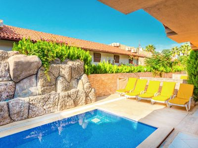 Photo for Villa Emel Paradise: Private Pool, A/C, WiFi, Car Not Required, Eco-Friendly