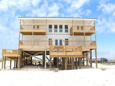 Photo for Island Fever -  6 Bedrooms, 5 Baths, Gulf Beachfront, Handicap Accessible