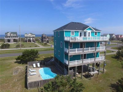 Forget Work, Relax Poolside! Oceanview-Hot Tub, GameRm Luggage Lift, DogFriendly