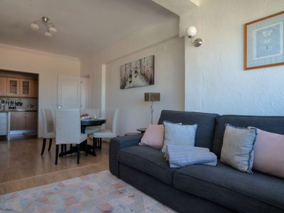 Photo for Sunny 2 BR in Monte Estoril - brief walk to beaches and Cascais Center