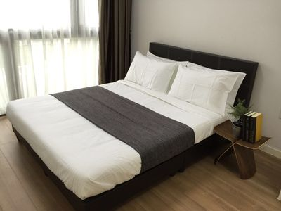 Photo for 1BR Cosy beside MRT (Purple Line) ERS