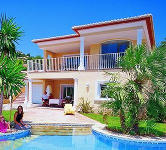 Photo for Holiday house Moraira for 8 persons with 4 bedrooms - Holiday house