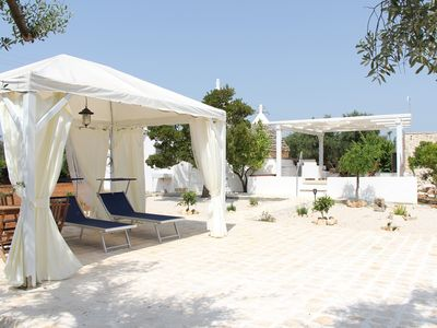 Photo for Historic trullo in the countryside but close to the sandy beaches