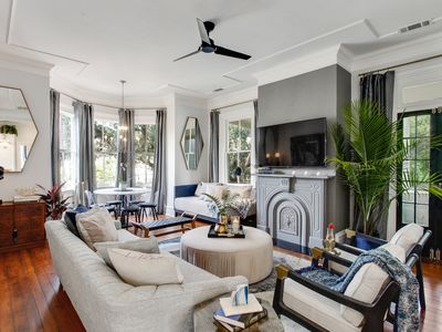 Photo for Stayloom's Art Deco-Inspired Victorian, Near Park