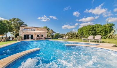 Photo for Villa Angelina Es Trenc - with WiFi and large pool