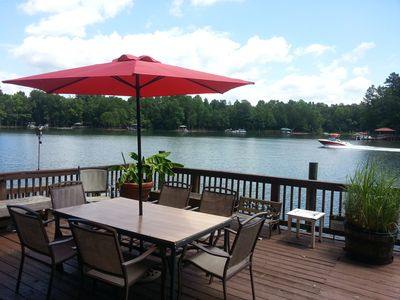 Photo for Private home on beautiful Mountain Island Lake in Charlotte