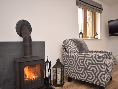 Snuggle up in front of the wood burner after a busy day
