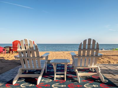 Photo for The Red Anchor - Beachfront!