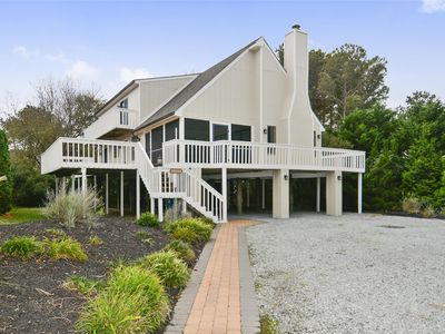 Photo for FREE ACTIVITIES!!!  Great vacation home located in one of North Bethany's sought after private beach communities of Bethany Village!  Just a 3 minute stroll from the beach this home has 4 bedrooms plus a loft with 2 full baths