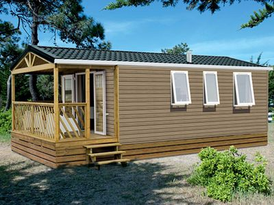 Photo for Mobile home Loggia 2 - Mobile homes on the beach