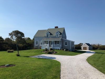 Photo for NEW 4BD/4BATH SUMMER RENTAL * POOL * VIEWS * WALK TO BEACH * OWNERS JEEP OPTION