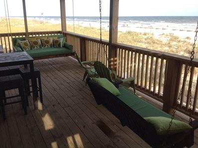 Can't Beat this Direct Ocean View on Large Deck!
