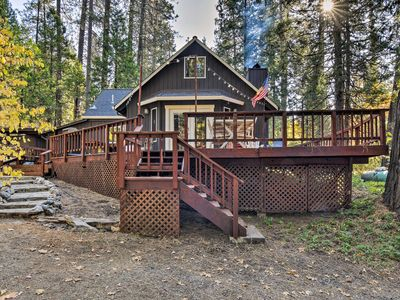 Photo for Arnold Cabin w/Fire Pit & Deck by Big Trees Park