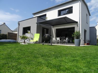 Photo for Modern house near the center of La Baule, shops, 1.5km from the beach