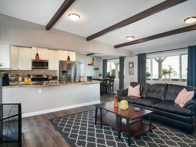 Photo for Oceanview remodeled 3 bedroom 2 bath Modern and open Solana Beach home.