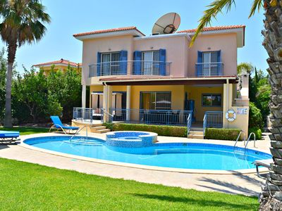Photo for Latchi Beach Villa - 100m from Blue Flag Tourist Beach, Harbour & Restaurants