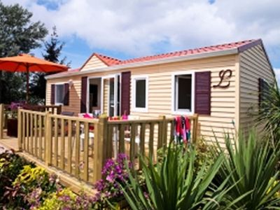 Photo for Camping Chalets du Lac d'Aydat *** - Mobile home Tamaris 6 Persons 4 Rooms
