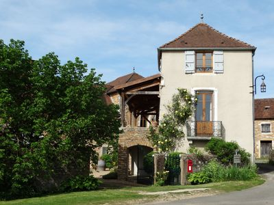 Photo for Modernised Farmhouse In Bessuge, Chapaize, Burgundy
