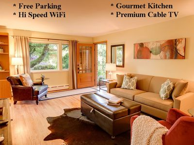 Photo for QUEEN ANNE 1BD CONDO - AC - RELAXING GARDEN VIEW - SWEET LOCATION  - FIVE STARS
