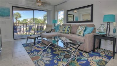 Photo for Modern and Airy Beachside Condo in Award Winning St Pete Beach!