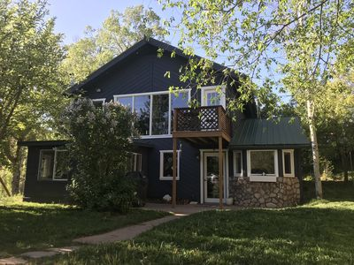 Photo for Crystal River Chalet on 2 acres with over 500ft of river frontage.