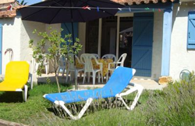 Photo for beautiful villa in the style of Provence, 150 meters from the sandy beach and shops