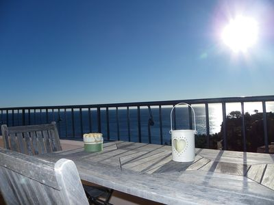 Photo for rental duplex flat roof terrace port la Galere
