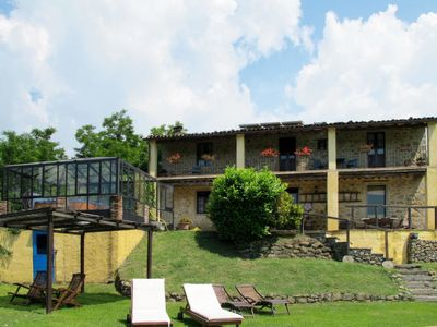 Photo for 4 bedroom Villa, sleeps 7 in Carbonaia with Pool and WiFi