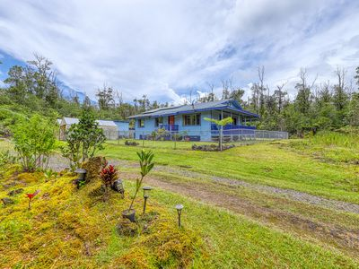 Photo for NEW LISTING! Tropical volcano home w/secluded yard and mountain views!