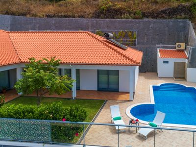Photo for Sea and mountain views, 5 minutes from the beach, private pool