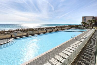 Balcony -  Waters Edge Resort Unit 213 Fort Walton Beach Florida Okaloosa Island Vacation Rentals