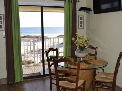 Photo for Beautiful Direct Gulf Front 1 Bedroom (Sleeps 6) at Plantation & Many Amenities!