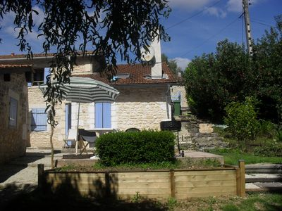 "Photo for Gite ""the blue shutters"" Small country house in Charente Maritime"